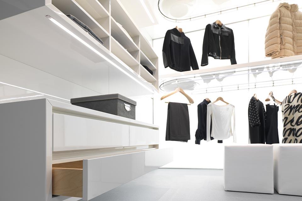 Cabina Armadio Rotante : Dynamic closet custom: la cabina armadio su misura metalprogetti casa