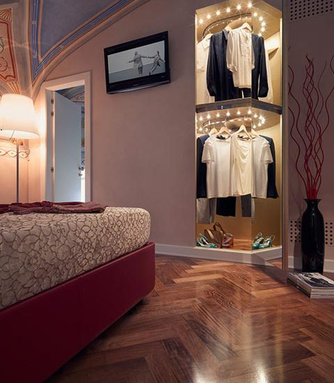 Augusto Custom: the automatic closet organizer by Metalprogetti Casa