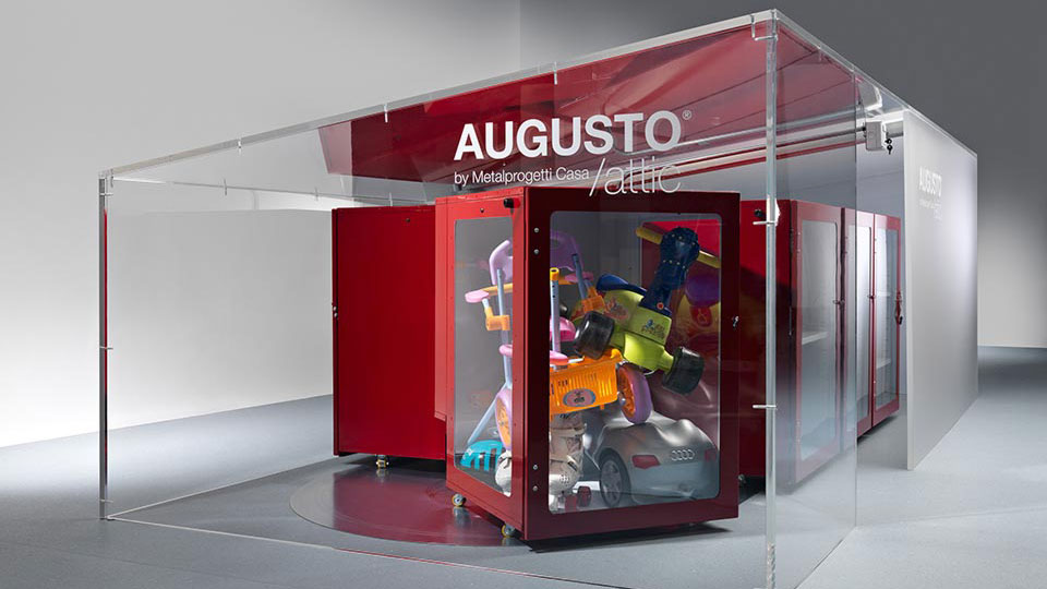 Augusto Attic: the space saving furniture by Metalprogetti Casa