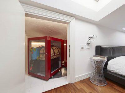 Augusto Attic: furniture to optimaze the small spaces by Metalprogetti Casa