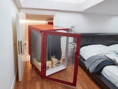 Augusto Attic: the space saving furniture by Metalprogetti Casa