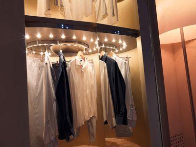 Augusto Custom: la cabina armadio su misura di Metalprogetti Casa