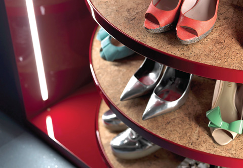 Shoe Rack: the technological shoe organizer by Metalprogetti Casa